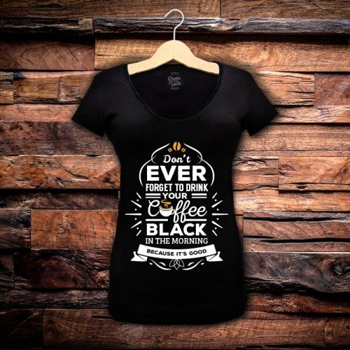 Camiseta Feminina Black Coffee