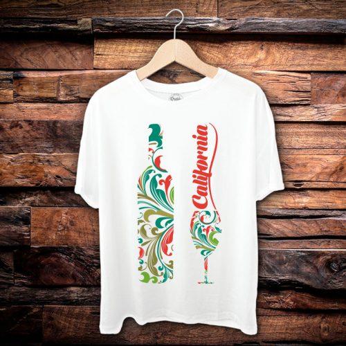 Camiseta Masculina Califórnia