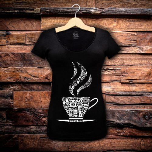 Camiseta Feminina Coffee Time