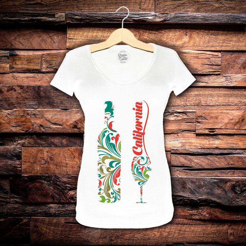 Camiseta Feminina Califórnia