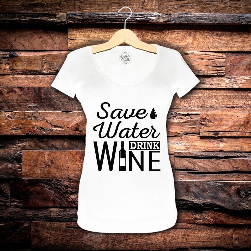 Camiseta Feminina Save Water