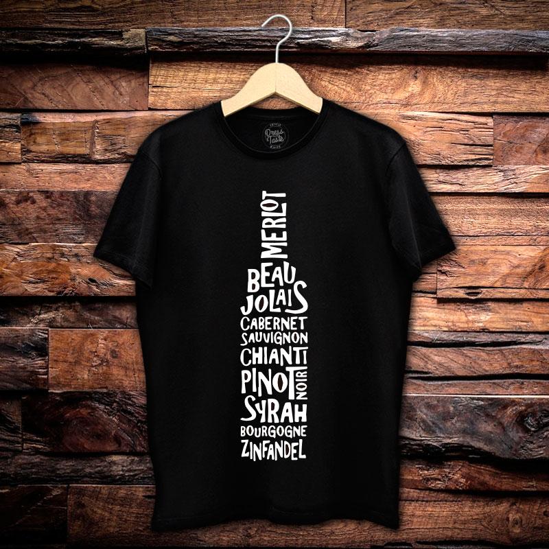 Camiseta Masculina Sommelier
