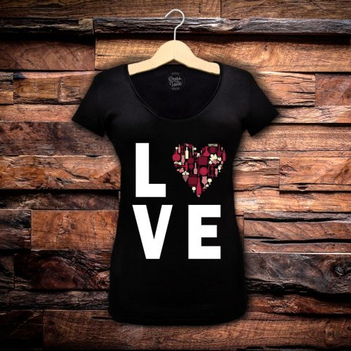Camiseta Feminina Love