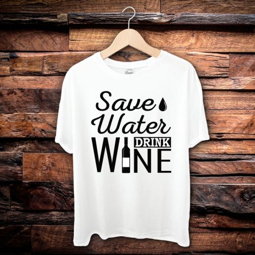 Camiseta Masculina Save Water