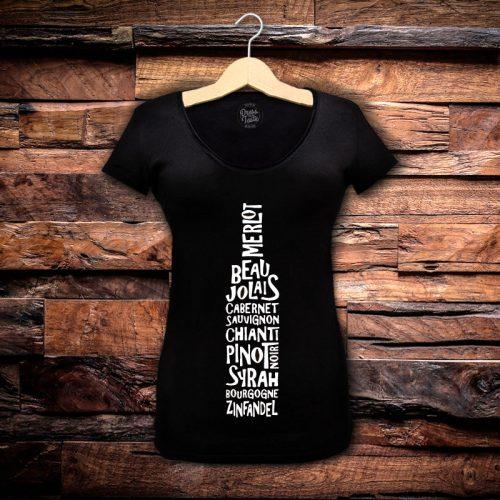 Camiseta Feminina Sommelier