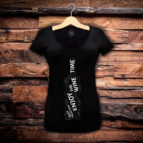 Camiseta Feminina Wine Time