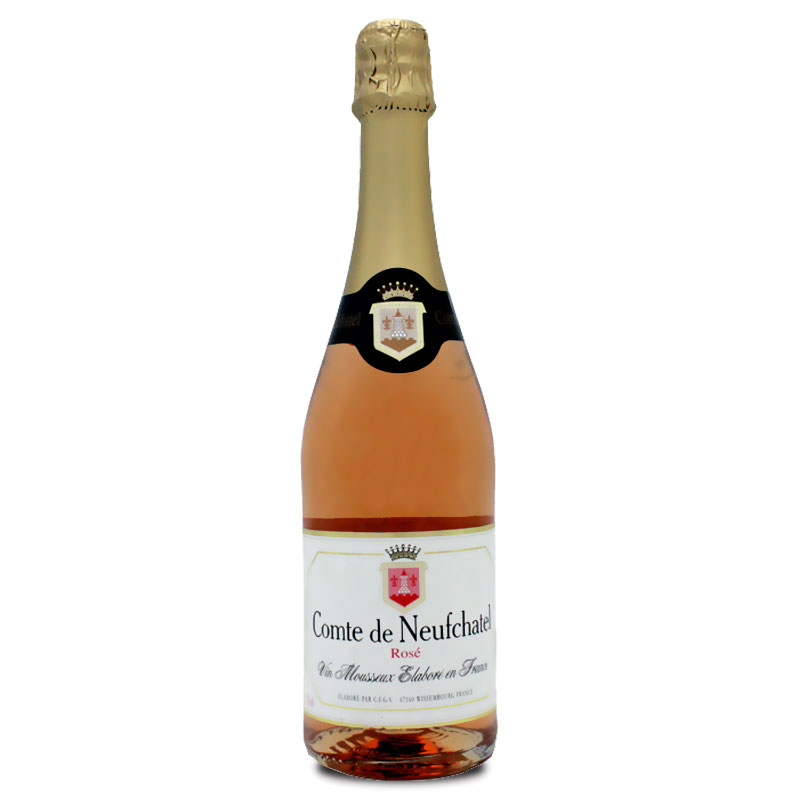 Espumante Comte de Neufchatel Rosé