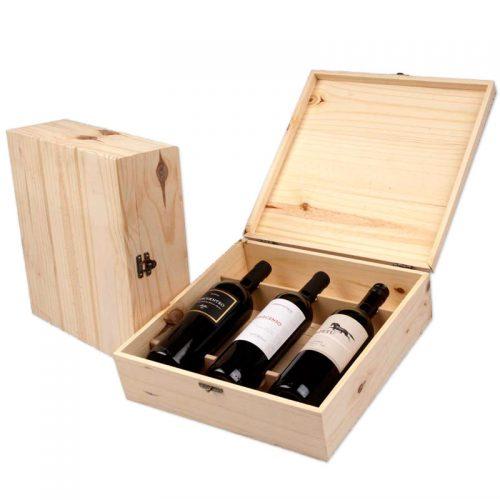 Caixa de Madeira para vinho
